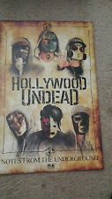 Hollywood Undead Concert poster 11x17 Notes from the Underground