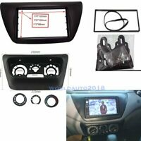 Center AC Control Fascia+Double Din Radio Panel for 2006 Mitsubishi Lancer IX