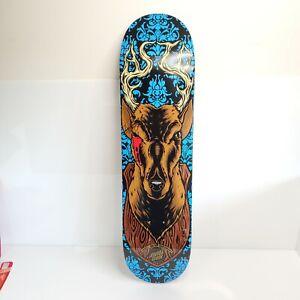 Santa Cruz Tom Asta Lucky Shot Pro Skateboard Deck Discontinued Signed HTF USA