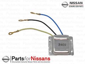 Genuine Nissan 1987-1992 Hardbody Pathfinder Regulator Assembly NEW OEM