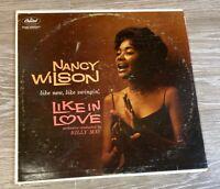 Nancy Wilson Like In Love Vinyl Record LP Capitol T1319 Mono