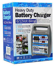 6v 12v 8A amp Heavy Duty Car Van 4x4 Marine Motorcycle Battery Charger