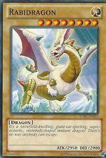 YU-GI-OH CARD: RABIDRAGON - SDBE-EN002