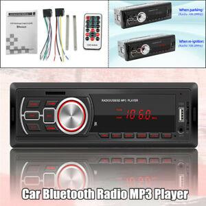 12V 25W Universal Car Bluetooth FM Radio Audio MP3 Player USB U Disk Card Reader