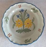 Piatto Auvillar Ceramica 19eme