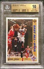 Michael Jordan 1991 Upper Deck East All Star #69 PRISTINE BGS 10 ONLY 1 For Sale