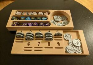 DnD Dice and Spell Slot Holder