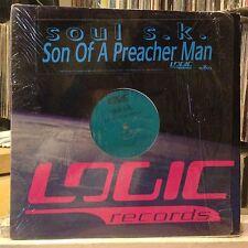 """[EDM]~NM 12""""~SOUL S.K.~Son Of A Preacherman~Preacher Man~[x4 Mixes]~[1997]~"""