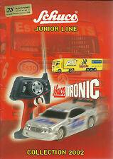 CATALOGUE SCHUCO JUNIOR LINE  - 2002
