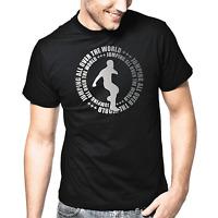 Jumping all over the world Jumpstyle Jumper Dance Music Silber Metallic T-Shirt