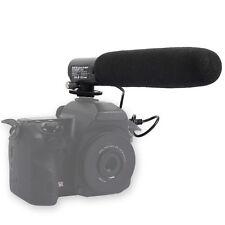 DC/DV Microphone MIC for Camera Nikon D7100 D7000 D5200 D5100 D3200 D300 D90