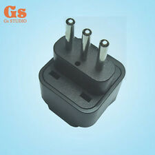Easy Convert Universal UK/US/EU/AU to Italy Travel Power Adapter Plug for travel