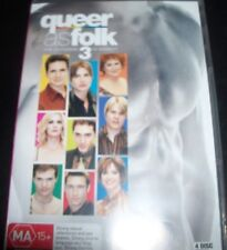 Queer As Folk USA / US The Complete 3rd Season 3 (Australia Region 4) DVD – New