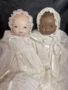 "Vintage Baby Bye Lo Doll Set of 2 Dolls by Grace Putnam 14"" Tall"