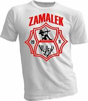 Zamalek Sporting Club of Egypt Football Soccer T shirt tee team sports handmade