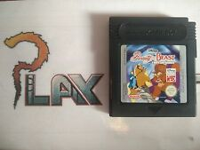 NINTENDO GAME BOY DISNEY'S BEAUTY AND THE BEAST SOLO CARTUCHO PAL EUR