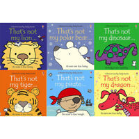 That's not my touchy feely series 3&4 :6 books collection Lion Tiger Polar Bear