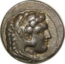 S608 Tétradrachme Macédonia Alexandre Le Grand Héraclès 336-323 Av JC