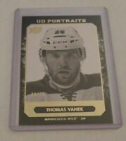 THOMAS VANEK - 2014/15 UPPER DECK - PORTRAITS - GOLD - #8/25 - WILD -