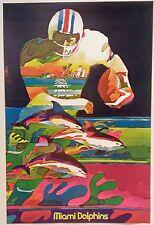 MIAMI DOLPHINS 1968 HOYLE THEME POSTER
