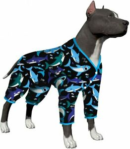 LovinPet Very Large Dog Pjs/Large Dog Jamammies/Full Coverage big dog pjs