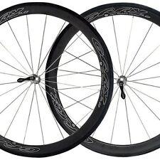 Gray 5.0/5.0 High Modulus Carbon Tubular Road Bike WheelSet DEMO(Displayed Only)