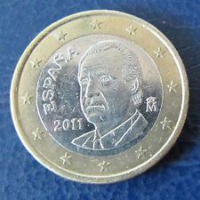 Spanien 2011 1 Euro Münze aus Umlauf Sammlerstück