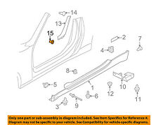 NISSAN OEM 09-18 370Z Exterior-Pillar Molding Grommet 768484N000