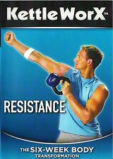 Kettle WorX Resistance dvd exercise fitness cardio core workout gym Unrated