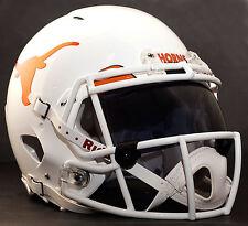 *CUSTOM* TEXAS LONGHORNS NCAA Riddell Speed AUTHENTIC Football Helmet