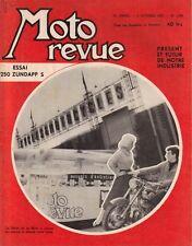 MOTO REVUE . N° 1359 . 5 octobre 1957 . Essai 250 Zundapp S .