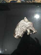 Solid Designer Silver Dragon Head For Walking Stick Vintage Wooden Cane Handle