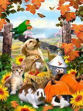 Malen nach Zahlen - Herbstfest
