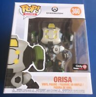 Overwatch Orisa GameStop Exclusive OR15 Funko Pop OR-15 NEW Great Boxes