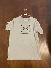 New listing Under Armour Gray T-Shirt, Size Large, Gently Used (Worn 1-2 Times)
