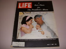 Life Magazine, July 7, 1967, President Johnson Photo Album Marijuana Use In U.S.