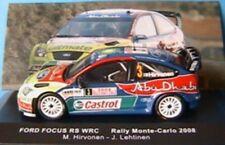 FORD FOCUS RS WRC #3 RALLYE MONTE CARLO 2008 HIRVONEN IXO 1/43 ALTAYA HIRVONEN