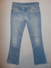 Diesel DOSH  W30 L32 Bootcut Womens Blue Denim Jeans