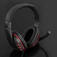 Wired USB Game Stereo Headset Headphones With Mic Noise Canceling For PS3 4 PC