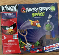 K'NEX Angry Birds Space Building Set Lightning Bird vs Space Minion Pig 72005