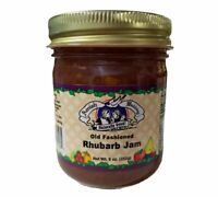 Amish Made Rhubarb Jam- 9 oz - 2 Jars - FREE SHIPPING