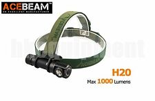 ACEBeam H20 Cree XP-L HI 1000lm 80m 18650 LED Headlight Black