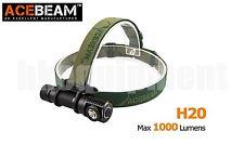ACEBeam H20 Cree XP-L HI 1000lm 80m 18650 LED Headlight Black