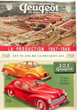 1998 PEUGEOT 203 CATALOGUE DES 50 ANS LA PRODUCTION 1947-1948