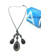 AVON Victoriana Black Diamante Necklace Jewellery Wedding Party Acessories Gift