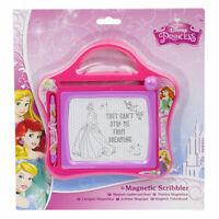 Disney Princess Kids Girls Small Magnetic Scribbler Sketch Board Travel Toy