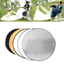 60cm 5 in 1 Collapsible Reflector Multi Panel Bag Light Disc Photo Photography