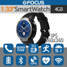 Waterproof Silicone/Rubber Band Smart Watches