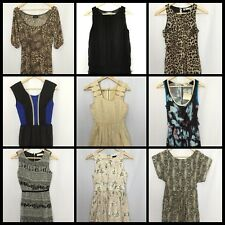Womens Size 8 Lot Dotti TEMT Evening Dress Party Summer Animal Print #W187