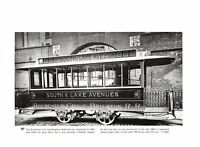 Rochester City Brighton Railroad/Minneapolis Railway Horse Street Car print